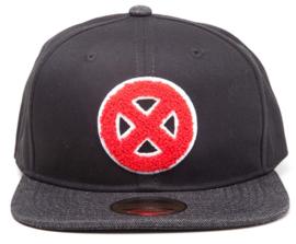 X-men Big X Logo Snapback Cap