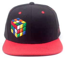 Rubik's Cube Coloured Snapback Cap