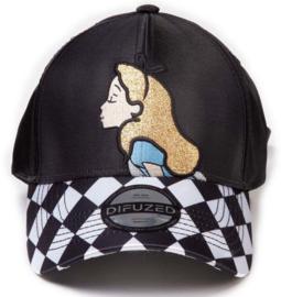 Disney Alice In Wonderland Curved Bill Cap