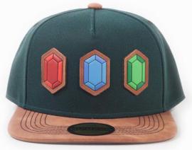 Nintendo Zelda Rupee Snapback Cap
