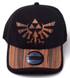 Nintendo Zelda Wooden Seamless Hyrule Cap