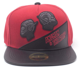 Marvel Ant-Man & The Wasp Rubber Patch Snapback Cap