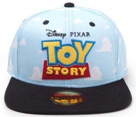 Disney Toy Story Clouds Logo Snapback Cap