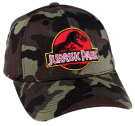 Jurassic Park Baseball Camouflage Logo Cap