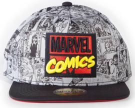 Marvel Comics AOP Snapback Cap