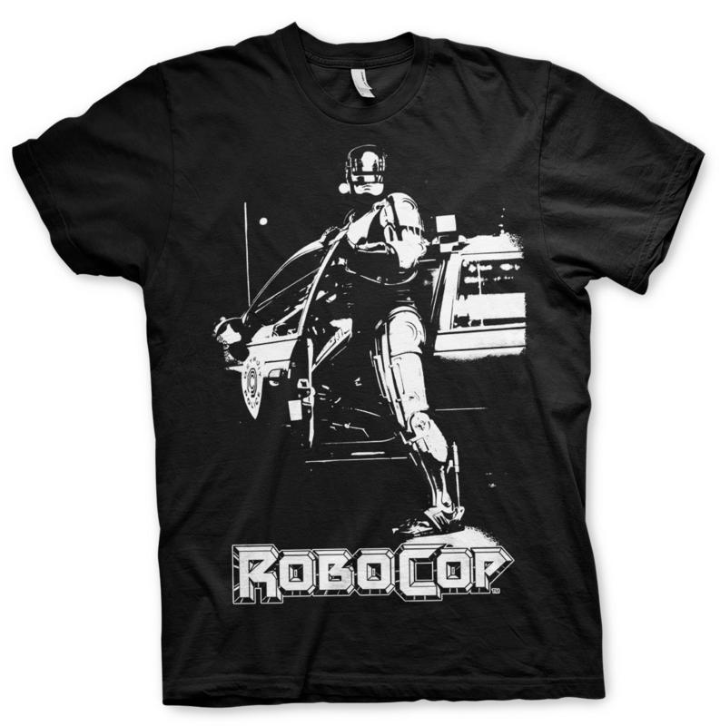 Robocop T-shirt Poster Heren (zwart)