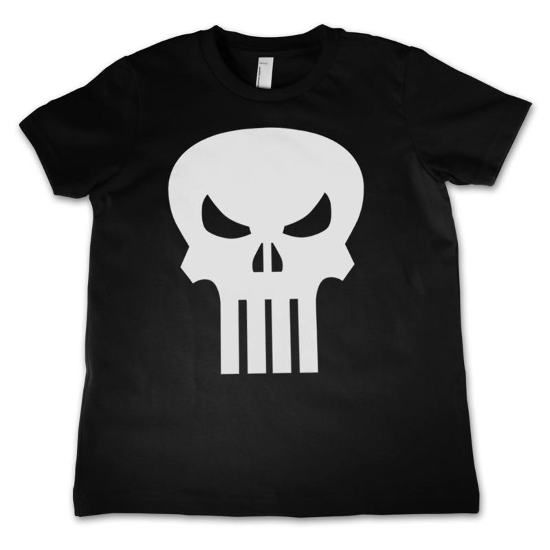 The Punisher T-shirt Skull Kids (zwart)