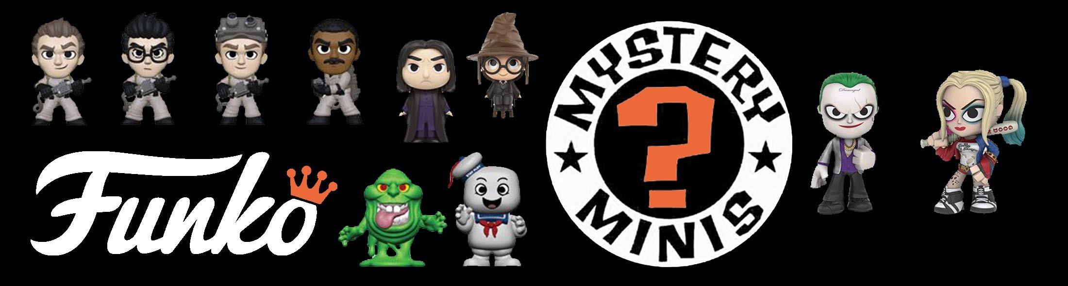 Funko Mystery mini's