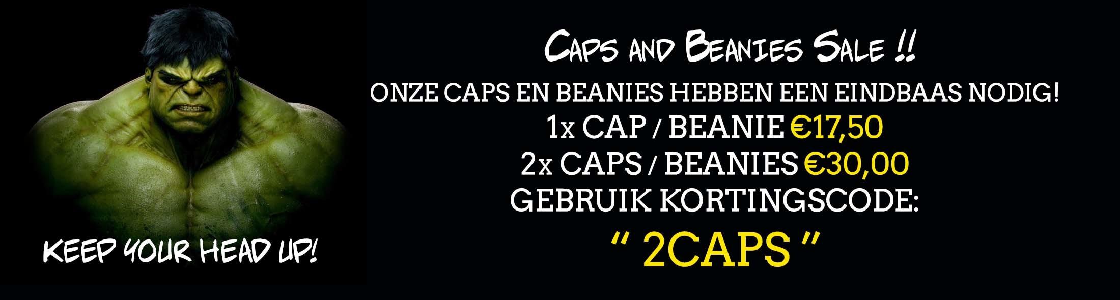 Korting caps