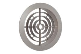 Ventilatierooster Ø 120mm, brons