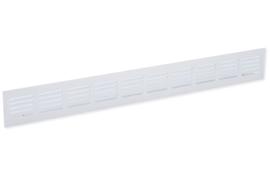 Plintrooster 500x60mm, F1 aluminium geanodiseerd