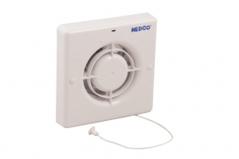 Badkamer/Toiletventilator CR 100 TP