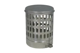 Aluminium kraaienkap Ø 140mm