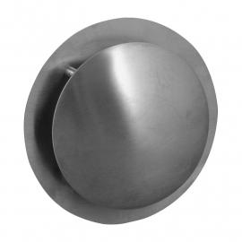 Ventilatierooster rond model Ø 100mm, met bolle kap