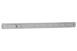Gleufluchtrooster 'P' 294x20mm, aluminium