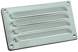 Schoepenrooster model 180x90mm, aluminium blank