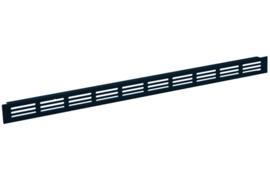Plintrooster 2000x60mm, zwart