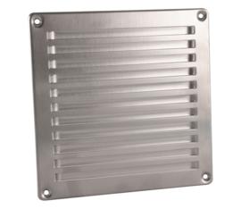 In-Line ventilatierooster 160x160mm RVS