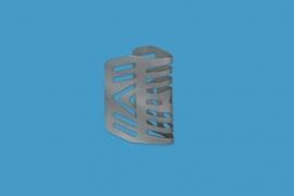 Maya spouwvoegrooster 50mm, RVS