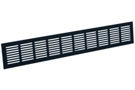 Plintrooster 300x100mm, zwart