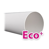 Ronde Eco+ ventilatiekanalen