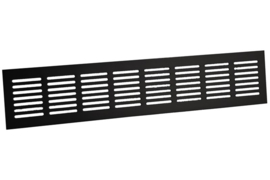 Plintrooster 500x60mm, zwart