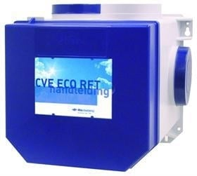 Centrale ventilatie-unit Ithodaalderop CVE ECO RFT incl. RFT-zender wit ( set )