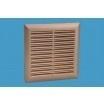 Afsluitbaar ventilatierooster 160x160mm, RVS