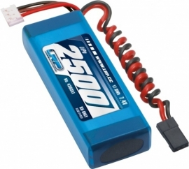 LRP VTEC LiPo 2500 RX-Pack 2/3 Straight - RX-only - 7.4V