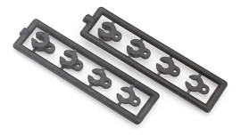 Caster Clips Set 4+3+2+1 mm (2) X302080