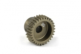 X305980	Narrow Pinion Gear Alu Hard Coated 30T : 64