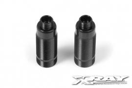 Alu Rear Shock Body - Hard Coated (2) X368220 ( Metal color)