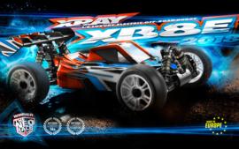 XRAY XB8E - 2018 SPECS - 1/8 LUXURY ELECTRIC OFF-ROAD CAR X350155