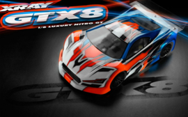 XRAY GTX8 - 1/8 Luxury Nitro On-Road GT Car X350500