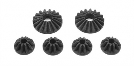 Steel Diff Bevel & Satellite Gears (2+4) X355030