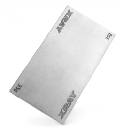STAINLESS STEEL BATTERY WEIGHT 35G X326181