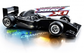 X370700 XRAY X1 2015 Spec 1/10 Formula-1
