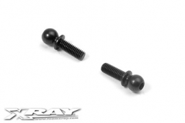 Ball End 4,9mm With Thread 8mm (2) X362651