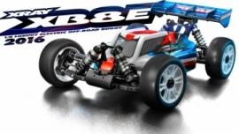 XRAY XB8E - 2016 SPECS - 1/8 LUXURY ELECTRIC OFF-ROAD CAR X350153