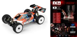 XRAY XB8'20 - 1/8 LUXURY NITRO OFF-ROAD CAR + FX K301 COMBO X350015-C