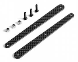 X353280XB8 GRAPHITE BRACES FOR REAR COMPOSITE BRACE - SET