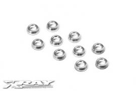 Alu Conical shim 3x6x2.0mm (10) X362280