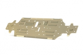 Xb8 Alu Chassis - Swiss 7075 T6 (3Mm) - Hard Coated v2 X351108