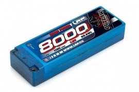 LRP 8000 Stickpack 110C/55C 7.6V LiPo