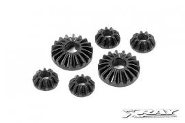 Composite Gear Diff Bevel & Satalite Gears (2+4) X304930