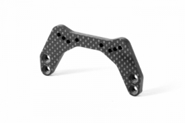X322080 GRAPHITE SHOCK TOWER FRONT 4.0MM