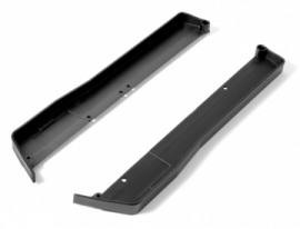 X361265COMPOSITE CHASSIS SIDE GUARDS L+R - MEDIUM