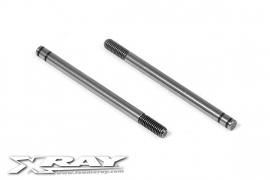 Front Hardened Shock Shaft (2) X368160