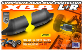 XB8 '18 Composite rear mud protector (L=R) X353193