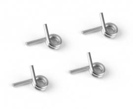 4-SHOE CLUTCH SPRINGS - SILVER - HARD (4) X358482